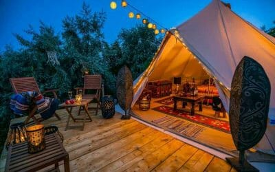 11 of The Best Glamping Sites in The UK